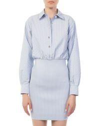 Opening Ceremony - Oc Jacquard Button-down Dress - Lyst