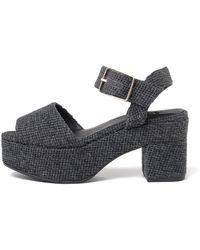 Castaner - Yacarta Grey Platform Sandals - Lyst