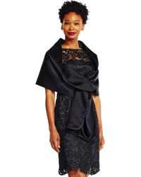 Adrianna Papell - Charmuese Wrap - Lyst