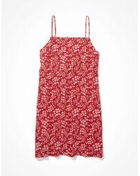 American Eagle - Floral Tie-back Mini Dress - Dresses - Women - Lyst