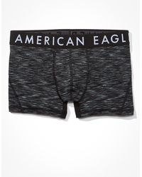 "American Eagle Aeo Space Dye 3""flex Trunk Underwear - Black"