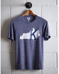 Tailgate Men's College Of Kentucky T-shirt - Blue