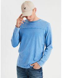 American Eagle - Ae Long Sleeve Football T-shirt - Lyst