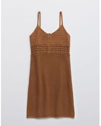 American Eagle - Crochet Cover Up Dress - Lyst