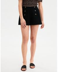 3f000f8563c American Eagle - Ae High-waisted Sailor Button Shorts - Lyst