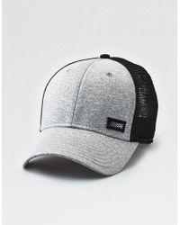 Lyst - American Eagle Rocker Graphic Baseball Cap in Black for Men ffa098a95ba4