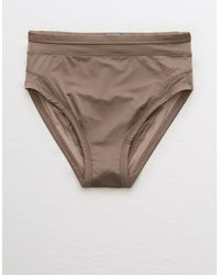 American Eagle Satin High Cut & Mighty Bikini Undie - Multicolor