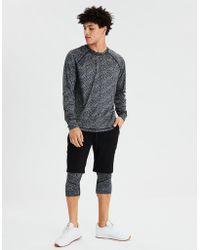 American Eagle - Ae Lounge Long Sleeve Base Layer T-shirt - Lyst