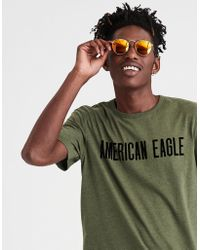 American Eagle - Ae Short Sleeve Graphic Tee - Lyst