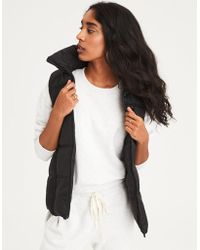 American Eagle - Ae Quilted Puffer Vest - Lyst