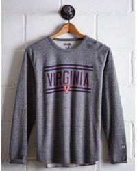 Tailgate Men's Uva Thermal Shirt - Gray