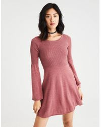 American Eagle - Ae Ahh-mazingly Soft Bell-sleeve Sweater Dress - Lyst