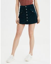 a74ab6ae1522 American Eagle - Ae Corduroy High-waisted Festival Skirt - Lyst