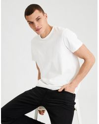 American Eagle - Ae Oversized Soft Brushed Cotton Tee - Lyst