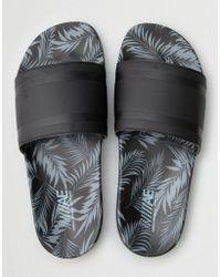 American Eagle - Tropical Print Slide Sandal - Lyst
