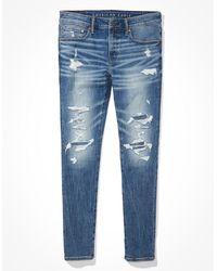 American Eagle Airflex+ Temp Tech Skinny Jean - Jeans - Blue