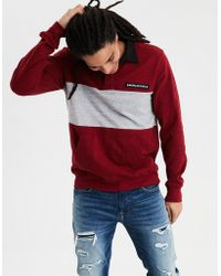 American Eagle - Ae Long Sleeve Rugby Polo - Lyst