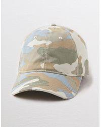 American Eagle Baseball Hat - Gray