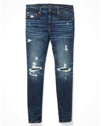American Eagle Airflex+ Skinny Jean - Jeans - Blue