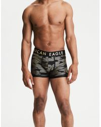 "American Eagle - Metallic Camo 3"" Stretch Trunk - Lyst"