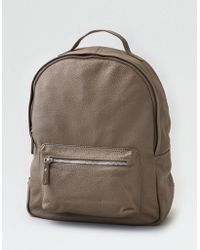 American Eagle - Wander Leather Large Backpack - Lyst