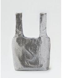 American Eagle - Soft Metallic Tote Bag - Lyst