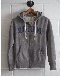 Tailgate - Men's Notre Dame Zip Hoodie - Lyst