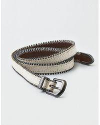 American Eagle - Slim Studded Belt - Lyst