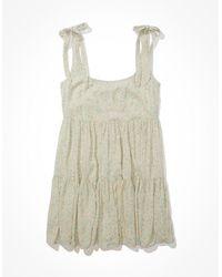 American Eagle - Floral Tie-strap Babydoll Dress - Dresses - Women - Lyst