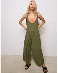 American Eagle - Don't Ask Why Tie Strap Jumpsuit - Lyst