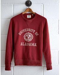 Tailgate Men's Alabama Crew Sweatshirt - Red