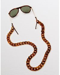 American Eagle Long Tortoise Sunglass Chain - Multicolor