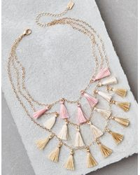 American Eagle - Ae Dangle Rings Necklace - Lyst