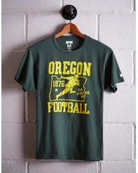 Tailgate Men's Oregon Football T-shirt - Green