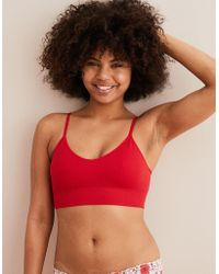 67384d3282 American Eagle - Chill Waffle Classic Bralette - Lyst