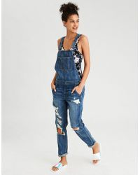 American Eagle - Tomgirl Overall - Lyst