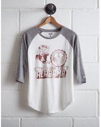 Tailgate - Women's Alabama Baseball Shirt - Lyst