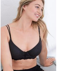 American Eagle - Hannah Demi Coverage Lightly Lined Bra - Lyst
