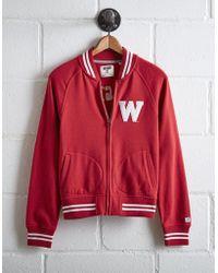 Tailgate - Women's Wisconsin Bomber Jacket - Lyst