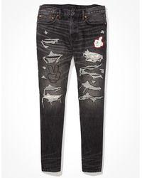 American Eagle X Disney Slim Jean - Jeans - Black