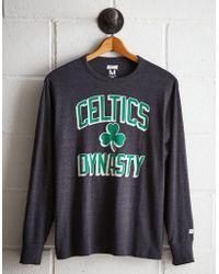 Tailgate Men's Boston Celtics Long Sleeve Tee - Gray