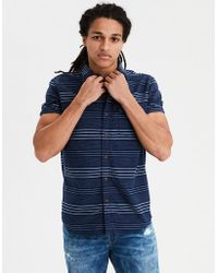 American Eagle - Ae Seriously Soft Oxford Buttondown Shirt - Lyst