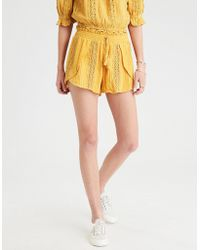 American Eagle - Ae Lace Insert Dolphin Short - Lyst