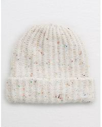 American Eagle Ribbed Beanie Hat - Multicolor