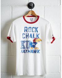 Tailgate - Men's Kansas Rock Chalk Ringer T-shirt - Lyst