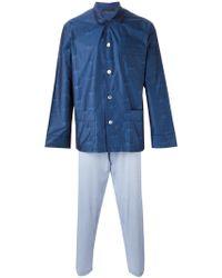 La Perla 'future' Pajamas - Blue