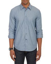 John Varvatos Striped Shirt - Lyst