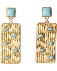 Jack Rogers - Peakaboo Earrings By Christina Greene - Lyst