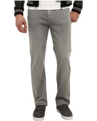 7 For All Mankind Slimmy in Stonegrey Wash - Lyst