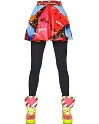 Manish Arora Candy Printed Techno Nylon Skirt - Lyst